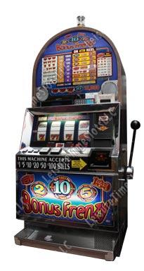 triple bonus frenzy slot machine
