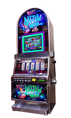 Little Green Men Slots Machine